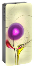 Portable Battery Charger featuring the digital art Sprout by Anastasiya Malakhova