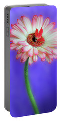 Sprouting Dahlia Portable Battery Charger