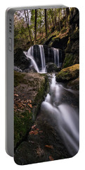 Sprucebrook Falls In Beacon Falls, Ct Portable Battery Charger