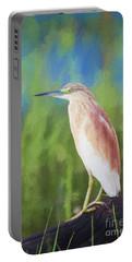 Squacco Heron Ardeola Ralloides Portable Battery Charger