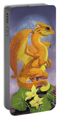 Squash Dragon Portable Battery Charger by Stanley Morrison