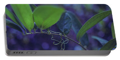 squiggle Vine Portable Battery Charger by Stefanie Silva