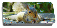 Squirrel Closeup Portable Battery Charger