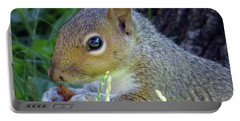 Squirrel Eating Portable Battery Charger