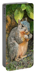 Squirrel Under Bush Portable Battery Charger
