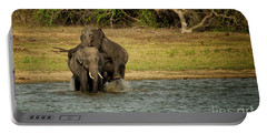 Sri Lankan Elephants  Portable Battery Charger
