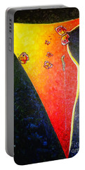 Portable Battery Charger featuring the painting ss1 by Viktor Lazarev