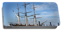 Portable Battery Charger featuring the photograph Ssv Oliver Hazard Perry by Nancy De Flon