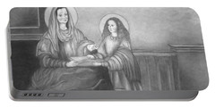 St. Anne And Bvm Portable Battery Charger