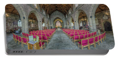 Portable Battery Charger featuring the photograph St Asaph Cathedral by Ian Mitchell