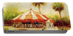 St. Augustine Carousel Portable Battery Charger
