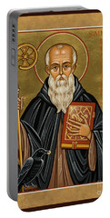 St. Benedict Of Nursia - Jcbnn Portable Battery Charger