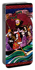 St. Brendan The Navigator - Mmbre Portable Battery Charger