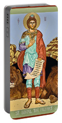 St. Daniel In The Lion's Den - Lwdld Portable Battery Charger