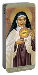 St. Edith Stein Of Auschwitz - Rleds Portable Battery Charger