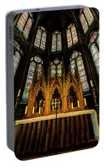 Portable Battery Charger featuring the photograph St. Elizabeth Church by David Morefield