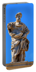 St. Eusignius Statue Portable Battery Charger