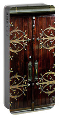 St Francis De Sales Oratory Wood Door St Louis Portable Battery Charger