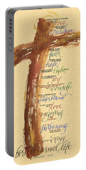 St Francis Peace Prayer  Portable Battery Charger