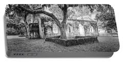 St. Helena Tabby Church Portable Battery Charger by Scott Hansen