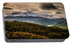 Portable Battery Charger featuring the photograph St. Helens Wrath by Dan Mihai