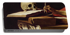 St. Jerome Writing Portable Battery Charger
