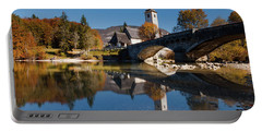 St. John The Baptist On The Lake Bohinj Portable Battery Charger