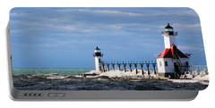 St. Joseph Lighthouse - Michigan Portable Battery Charger