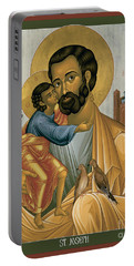 St. Joseph Of Nazareth - Rljnz Portable Battery Charger