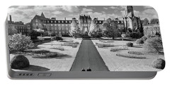 Portable Battery Charger featuring the photograph St Joseph's Square At Maynooth University - Kildare, Ireland by Barry O Carroll