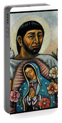 St. Juan Diego And The Virgins Image - Jljdv Portable Battery Charger