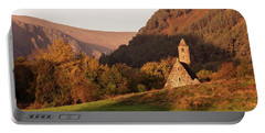 Morning At Glendalough, County Wicklow - Ireland Portable Battery Charger