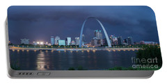 St Louis Before The Storm Portable Battery Charger