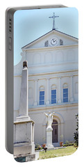 St. Louis Cathedral Back Lawn Portable Battery Charger