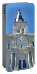 St. Louis Cathedral Study 1 Portable Battery Charger