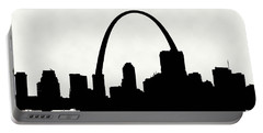 St Louis Silhouette With Boats 2 Portable Battery Charger
