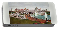 St. Louis World's Fair Palace Of Electricity Portable Battery Charger by Irek Szelag