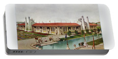 St. Louis World's Fair Palace Of Mines And Metallurgy Portable Battery Charger by Irek Szelag