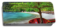 St. Lucia Beach Portable Battery Charger