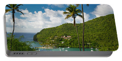 St Lucia - Marigot Bay Portable Battery Charger