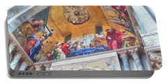Portable Battery Charger featuring the photograph St. Marks Basilica Venice Italy by John Noyes and Janette Boyd