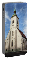 St. Martin Cathedral In Bratislava Portable Battery Charger