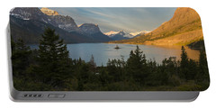 St. Mary Lake Portable Battery Charger by Gary Lengyel