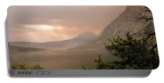 St Mary Lake In The Smoke Portable Battery Charger