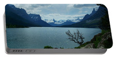 St Mary Lake, Incoming Storm Portable Battery Charger