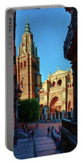 St Mary's Cathedral - Catholic Cathedral In Toledo, Chair Of The Primate Of Spain, The Main Cathedra Portable Battery Charger