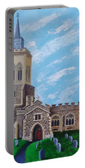 St. Mary's In England Portable Battery Charger by Katherine Young-Beck
