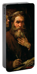 St Matthew And The Angel Portable Battery Charger