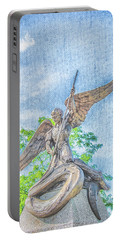 St Michael The Archangel Portable Battery Charger