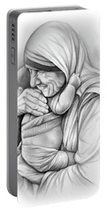 St Mother Teresa Portable Battery Charger